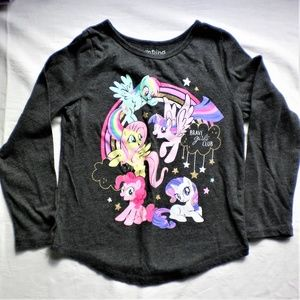 Girls Long sleeve MLP Tee Good Condition
